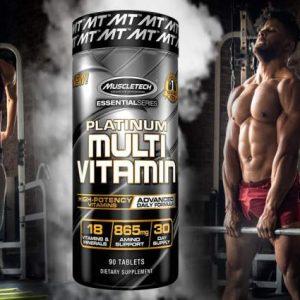 Multivitamin Tablets- Muscletech Platinum Multi Vitamin