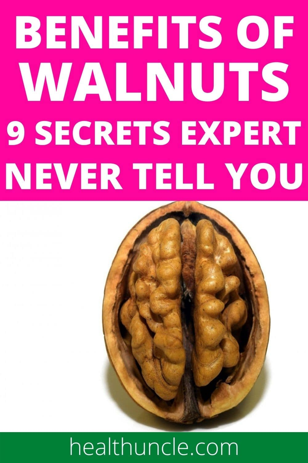 benefits of walnuts for human health