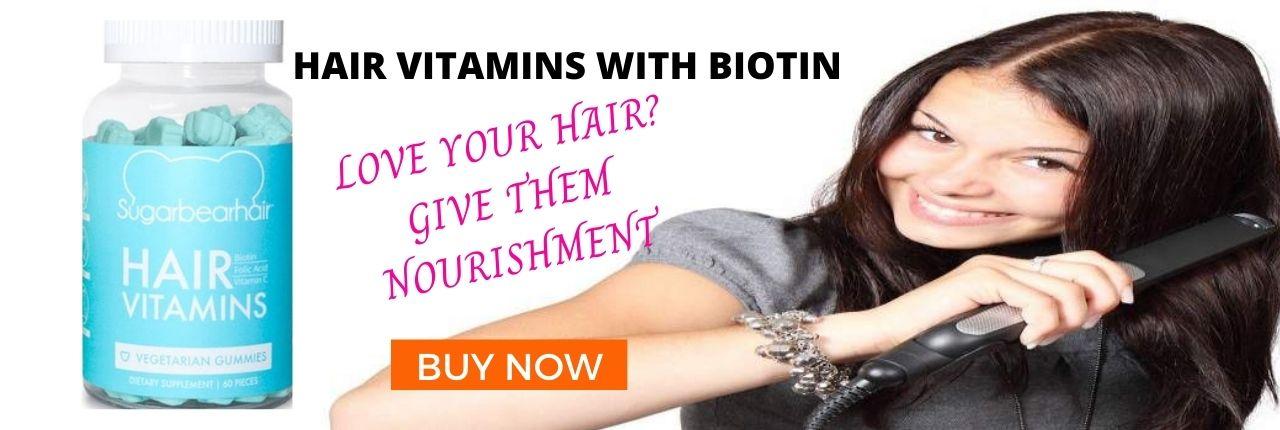 Hair Vitamins With Biotin