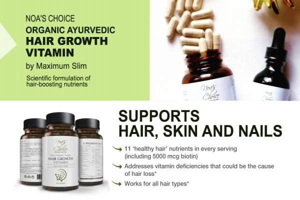 Organic Hair Growth Vitamin