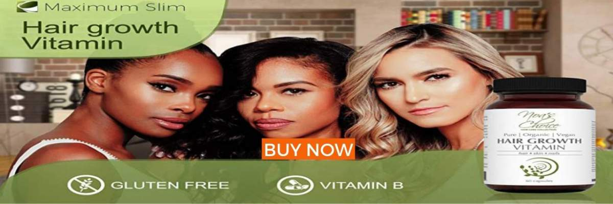 Organic Hair Growth Vitamins