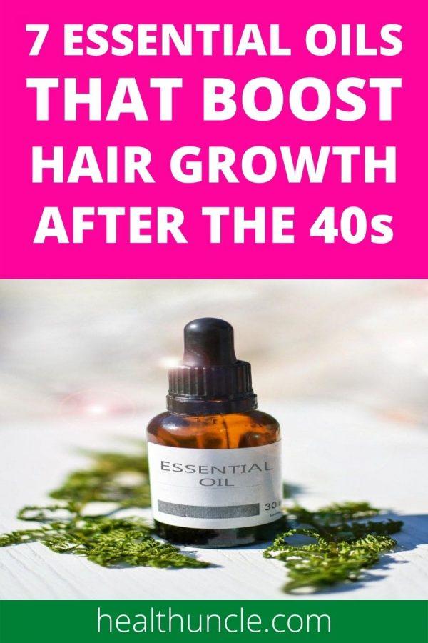 essential oils for steady hair growth