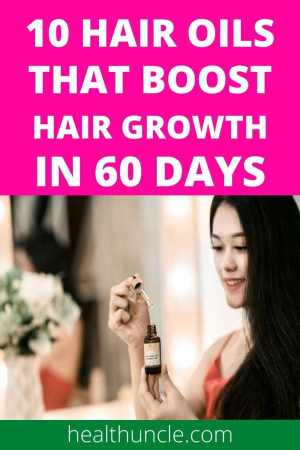 hair oils that boost hair regrowth