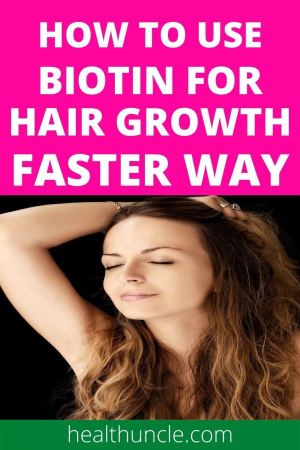 How to use Biotin for Hair Growth When you are Losing Hair